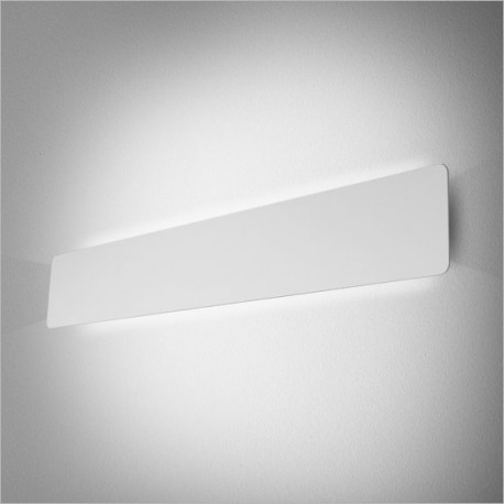 SMART PANEL oval 64 BV LED WW kinkiet biały połysk