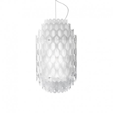 CHANTAL MEDIUM lampa wisząca WHITE