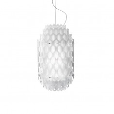 CHANTAL SMALL lampa wisząca WHITE