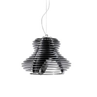 FARETTO Lampa wisząca SINGLE BLACK